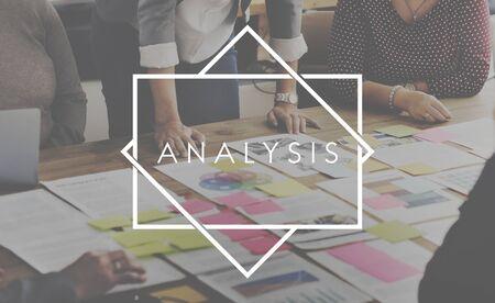 strategize: Analysis Statistics Strategize Insight Concept