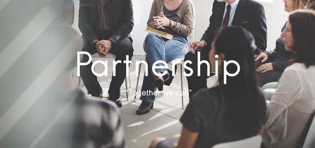 love strategy: Partnerhsip Agreement Business Collaboration Concept