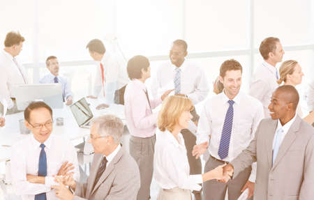 social grace: Business People Meeting Working Planning Concept