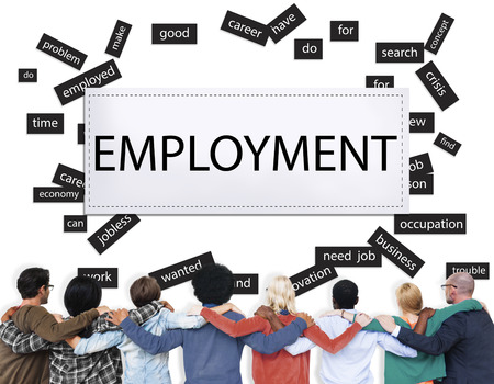 wellfare: Employment Unemployment Career Job Concept Stock Photo