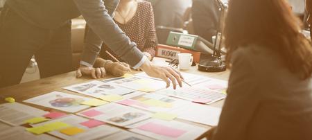 Zakelijke Corporation Organisatie Teamwork Concept
