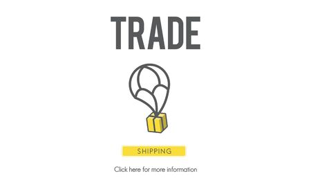 export import: Trade Freight Industry Industrial Import Export Concept