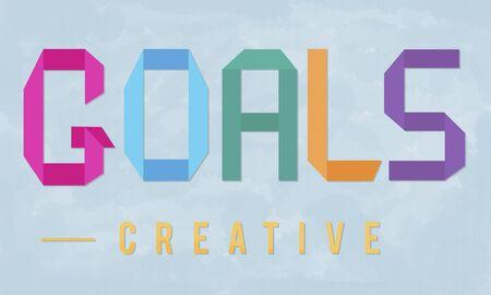 Goals Doel motiverende Target Vision Inspiration Concept