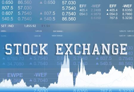 stock: Stock Exchange Banking Finance Investment Concept Stock Photo