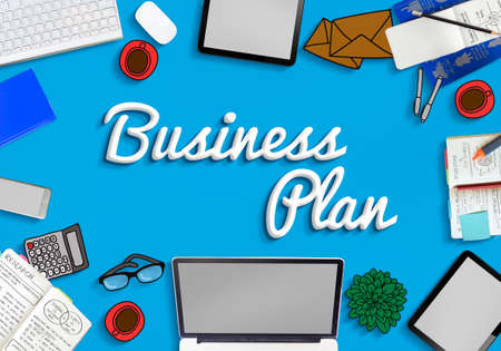 smart goals: Business Plan Vision Strategy Tactics Planning Concept