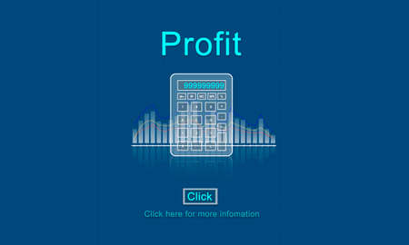 ganancias: Profit Savings View Earnings View Total Amount Concept
