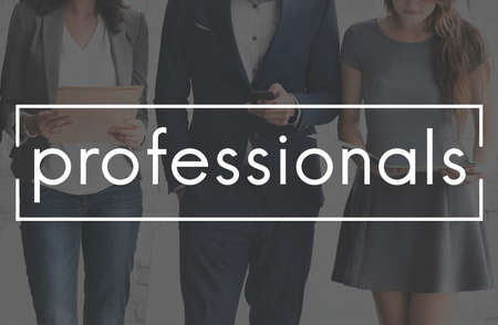 accomplished: Professionals Business People Expert Accomplished Concept