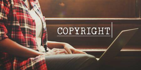 brand identity: Copyright Trademark Identity Brand Concept