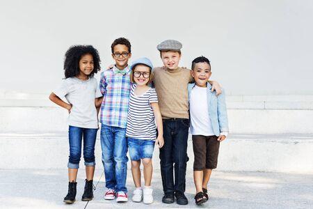 hijos: Concepto Offspring ni�o Amigos de primaria Variaci�n