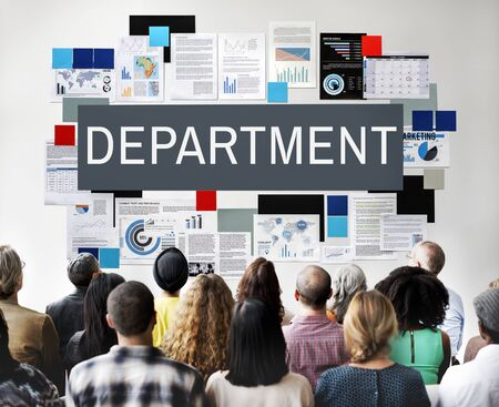 diversity domain: Department Agency Branch Division Office Unit Concept Stock Photo