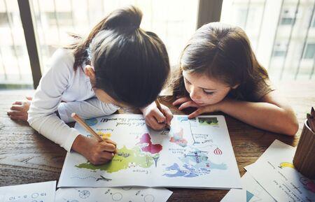 envision: Drawing Friendship Ideas Imagination Creative Concept