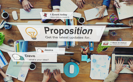 proposition: Proposition Proposal Solution Strategy Action Concept