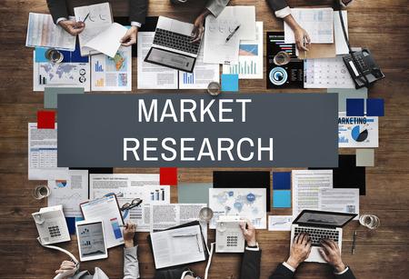 La investigación de mercado de Información al Consumidor de Necesidades Concept Foto de archivo