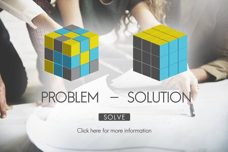 problem solution: Problem Solution Strategy Trouble Difficulty Ideas Concept