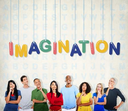 visualise: Imagination Creativity Dream Idea Thinking Concept
