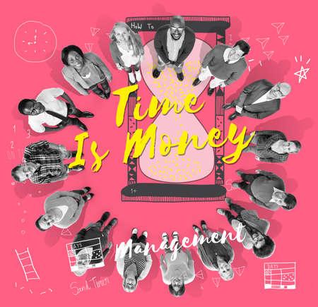 challange: Valuable Times Value Challange Money Concept Stock Photo