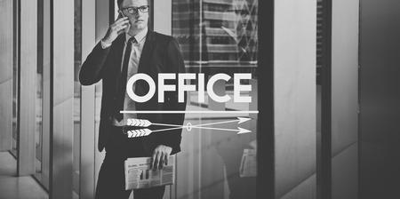 bureaucratic: Office Department Organization Business Work Concept