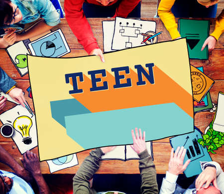 boyhood: Teen Adolescence Lifestyle Young Youth Culture Concept