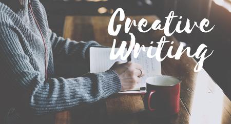 creative writing: Creative Writing Talent Style Skills Concept Stock Photo