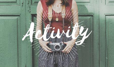 recoger: Aventura estilo de vida activo Recoger Concepto Momentos Foto de archivo