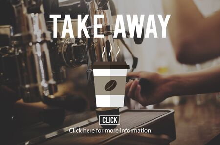 caffeine: Take Away To Go Coffee Caffeine Concept Stock Photo