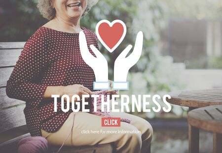 togetherness: Togetherness Charity Team Teamwork Service Concept