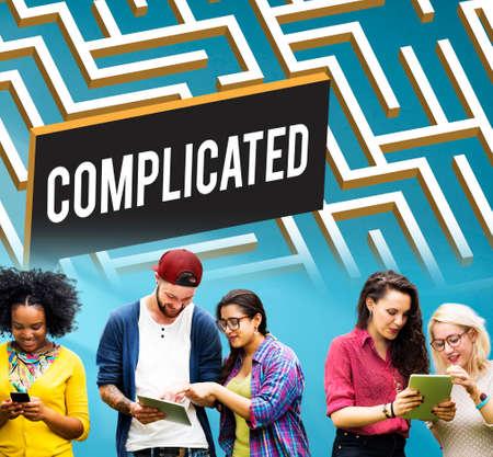 to analyze: Challenge Analyze Complicated Maze Concept