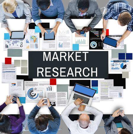 La investigación de mercado de Información al Consumidor de Necesidades Concept