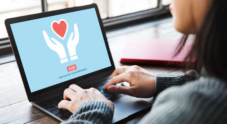 chat online: Charity Donations Charitable Give Aid Help Support Concept