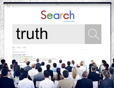 fact: Truth Fact Real Trust Honest Truthfulness Concept