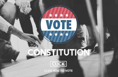 autoridad: Concepto Unidad Libertad Constituci�n Documento Autoridad Foto de archivo