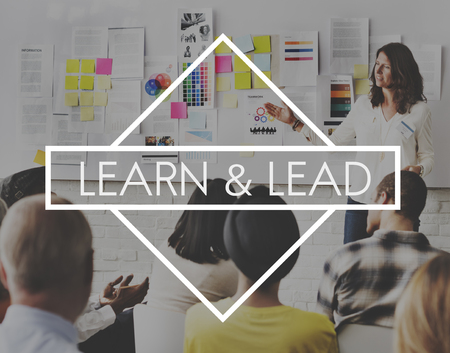 learn and lead: Learn Lead Coach Education Improvement Concept