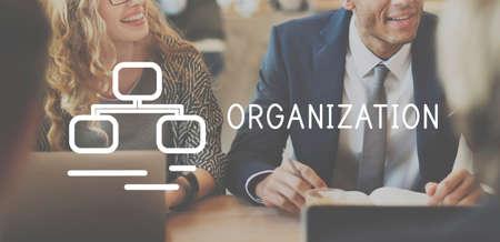 business idea: Oraganization Collaboration Company Corporate Concept Stock Photo