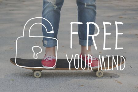 free your mind: Free Your Mind Relax Energy Lazy Concept