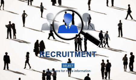 headhunting: Recruitment Headhunting Employment Job Concept