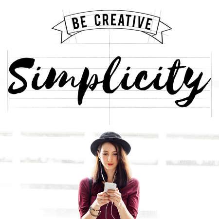 Simplicity Minimal Modern Noemal Peace SImple Concept