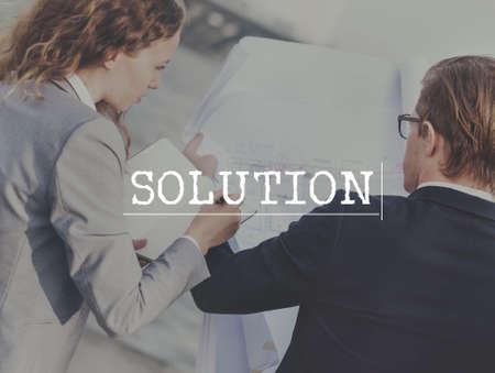 new idea: Solution Problem Solving New Idea Concept