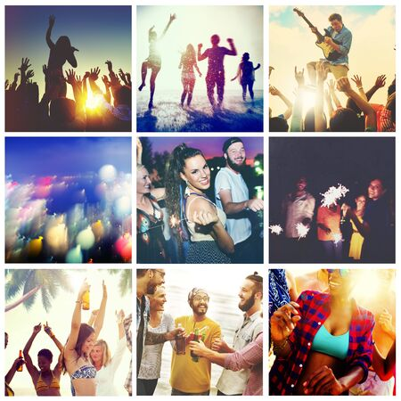 fellowship: Friends Fellowship Enjoyment Satisfaction Social Concept
