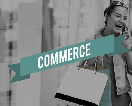 selling service: Commerce Marketing Retail Sale Service Concept