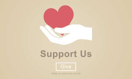 donacion de organos: apoyarnos Bienestar Voluntarios Donaciones Concept Foto de archivo