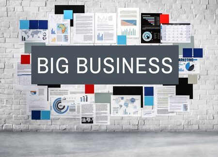 capitalism: Big Business Capitalism Company Competition Concept