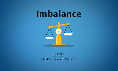 comparison: Imbalance Choice Comparison Complexity Risk Concept