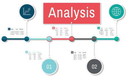 reseach: Analysis Information Insight Connect Data Concept