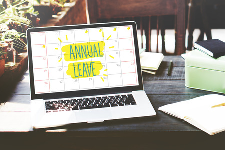 enjoyment: Annual Leave Break Holiday Enjoyment Party Concept Stock Photo
