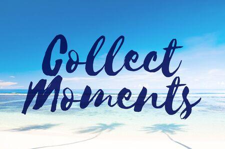 recoger: Recoger Momentos Aventura Placer Explora Concept