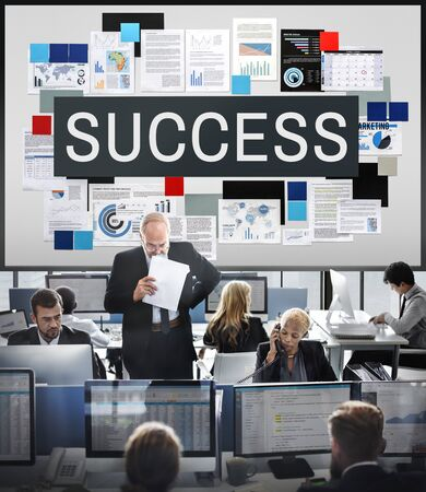 hectic: Success Achievement Excellent Growth Victory Concept Stock Photo