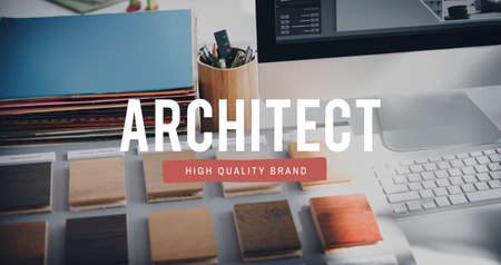 expertise concept: Architect Designer Engineer Creative Occupation Expertise Concept