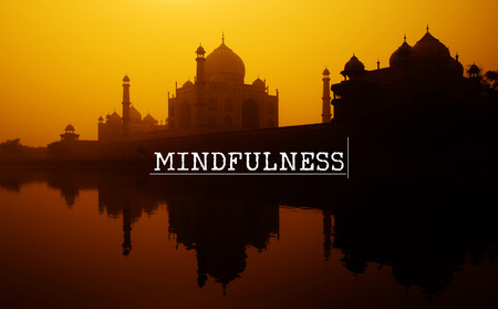 Mindfulness Attitude Attentive Spiritual Meditation Concept