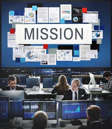 hectic: Mission Aim Goals Motivation Target Vision Concept