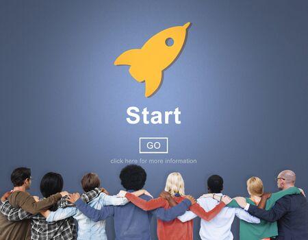 begin: Start Begin Activation Begin First Build Forward Concept